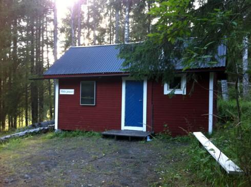 NLFs klubbstuga Villa Franca vid Grenforsen